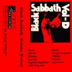 """C.A.S.S. Records 006º - """"Black Sabbath Volume Detroit"""" compilation, tape, 1998"""