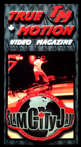 "True Motion Video Magazine ""Slam City Jam"" VHS, 1998"