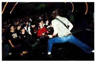 The Separation Suicide playing at L'Anti in Quebec City. Date and photographer unknown