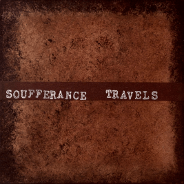"""Soufferance """"Travels"""" boxed set. Released August 14th 2013 on Abridged Pause Recordings (APR7)."""