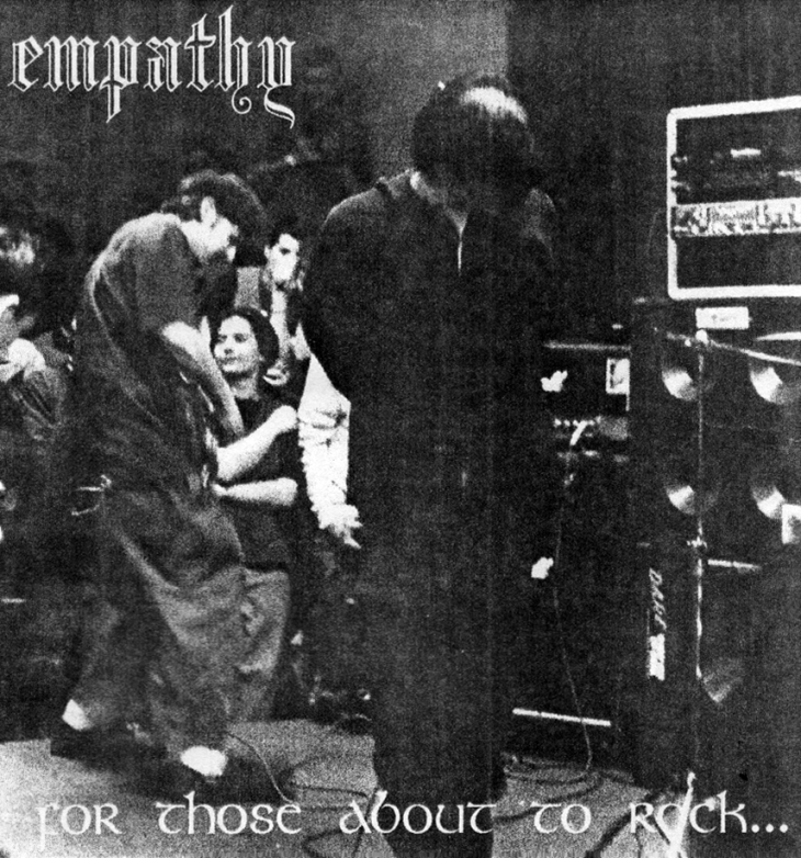 Empathy featured in Plague fanzine, issue no. 2 (August 1995). Photo courtesy of Micheal Haggerty