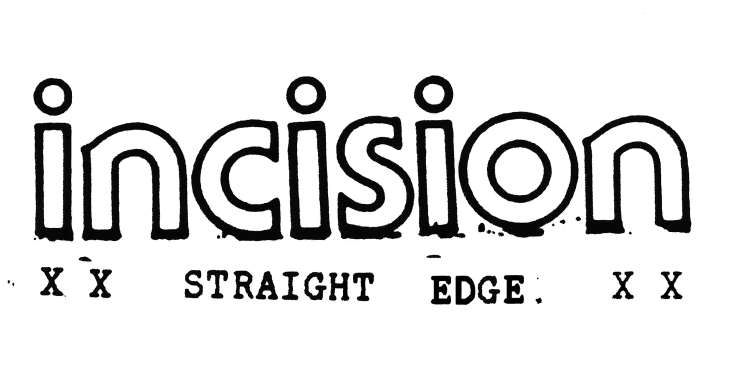 The first Incision logo, used from March to May of 1993.