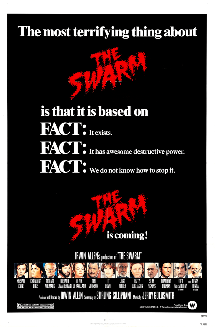 """The Swarm"" film poster, 1978."