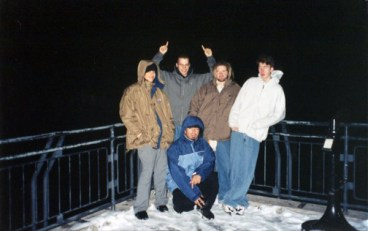 Bird of Ill Omen on their second tour, December 1997