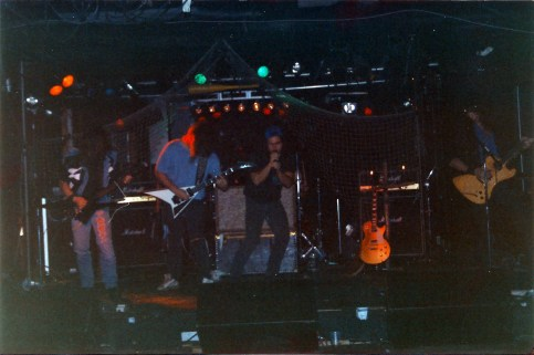 Boize performing live at the Backstreet, Montreal, Canada in 1992.