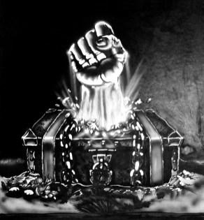 Original art concept for the Boize EP by Francois Da Fonseca.