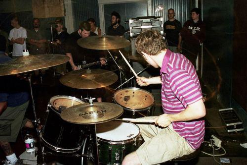 The Swarm at the Eldridge Club, June 14th 1999. Photo courtesy of Mark Miller.