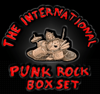 """The International Punk Rock Box Set"" compilation, Meathead Records, July/August 2001"