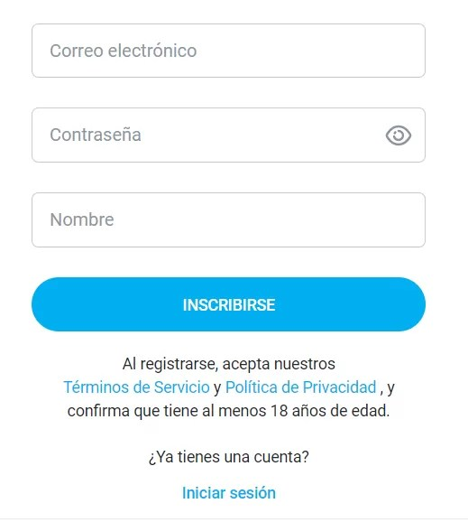 Registro OnlyFans