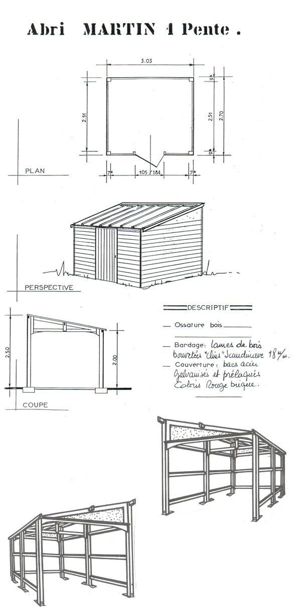 Abri jardin chalet bungalow garages ossature en bois cabane  Abri de jardin 12L