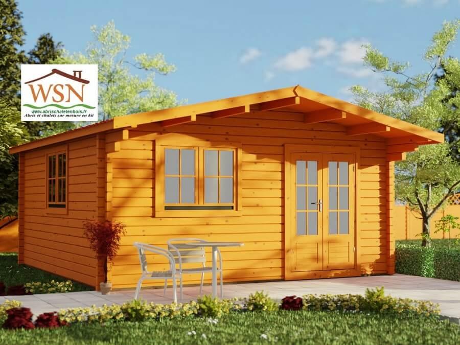 bungalow en bois aveyron 20m dim 5000x4000 44mm