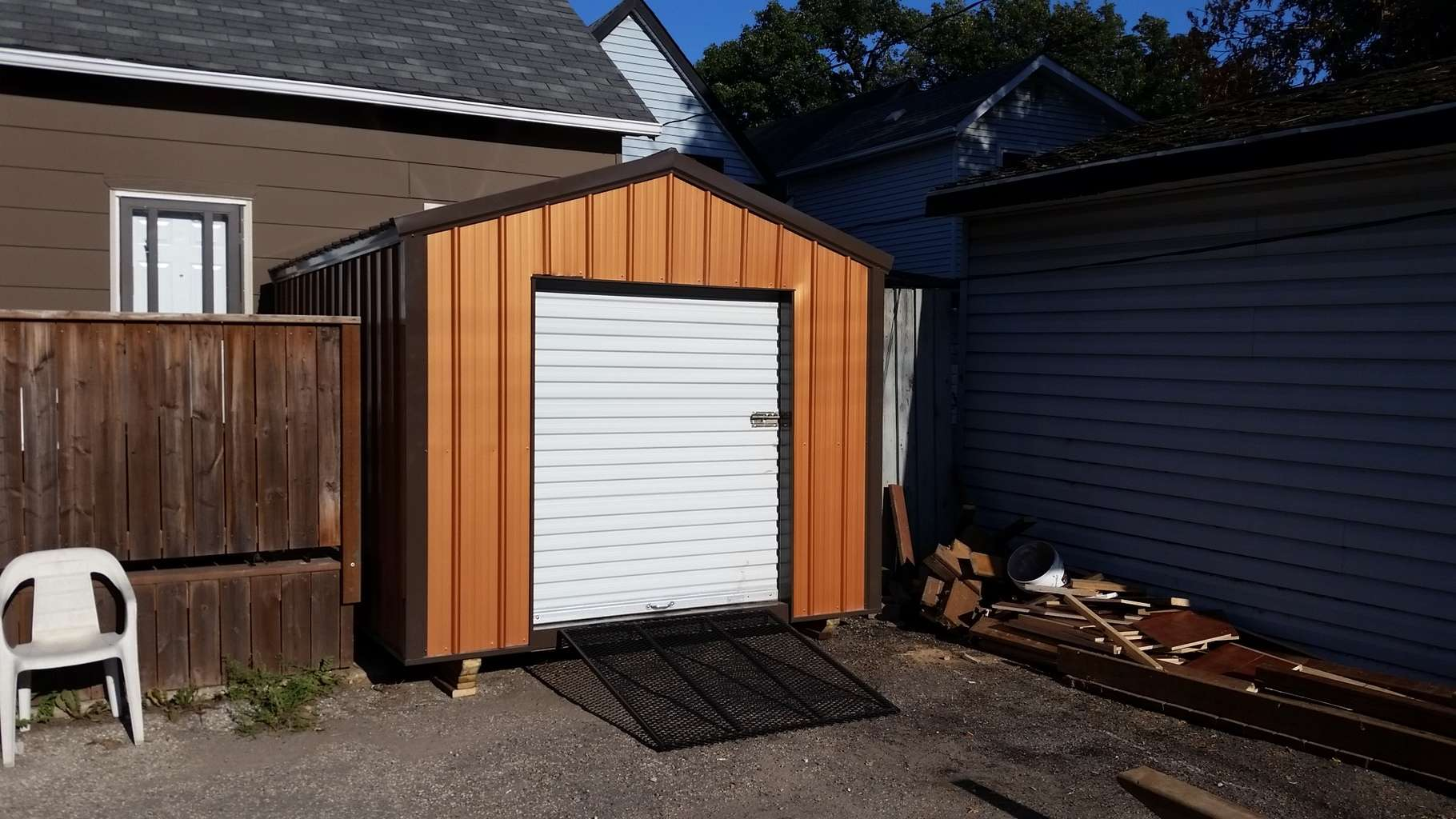 l metal garage doors sheds small roll door for prices up shed