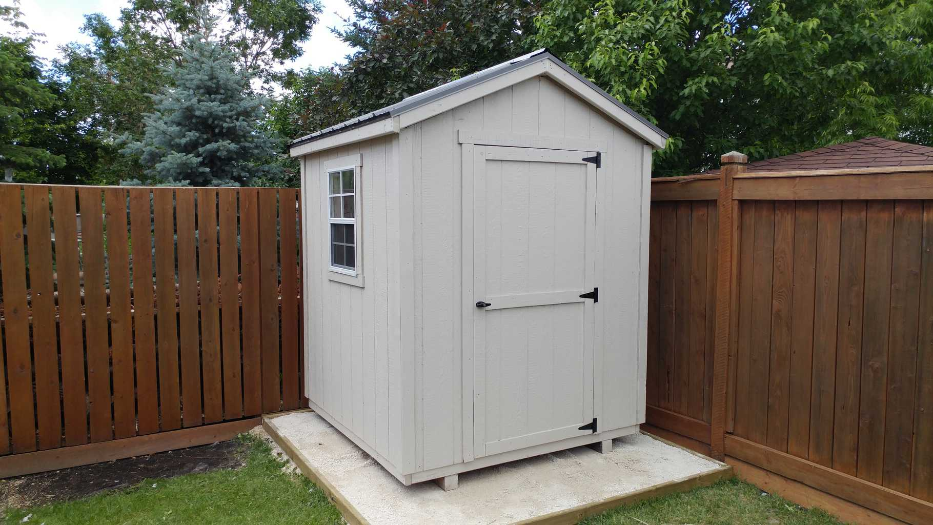 yard me sheds built collection pre barn shed near back for storage backyard wooden maxi