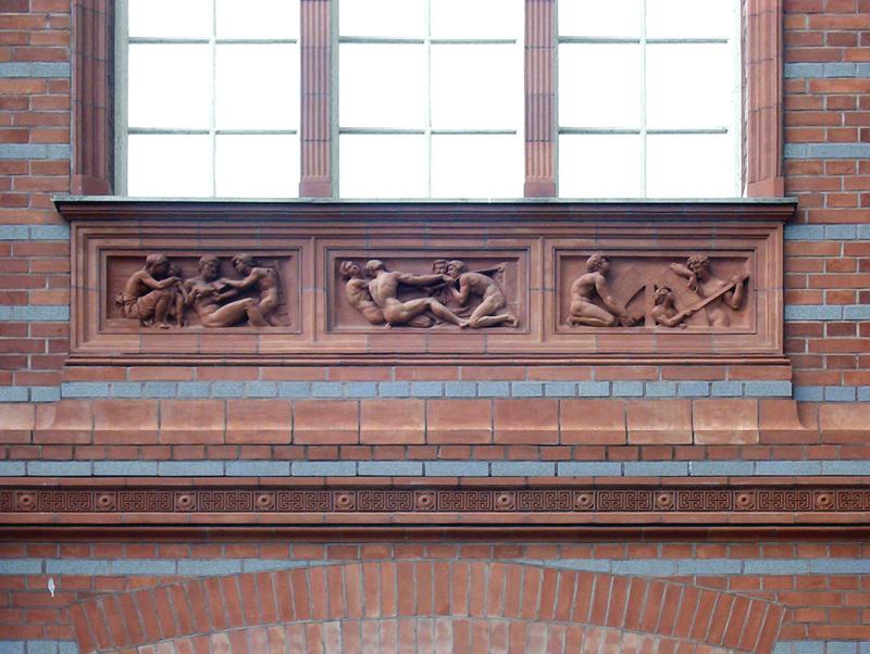 Musterfassade der Bauakademie  AbriRaabe