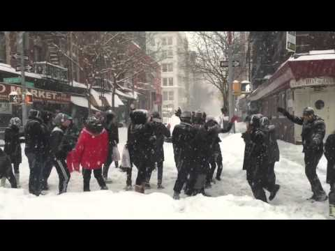 Snowzilla Dance Party 2016