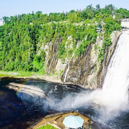Quebec City Day Trip | Ile D'Orleans & Montmorency Falls