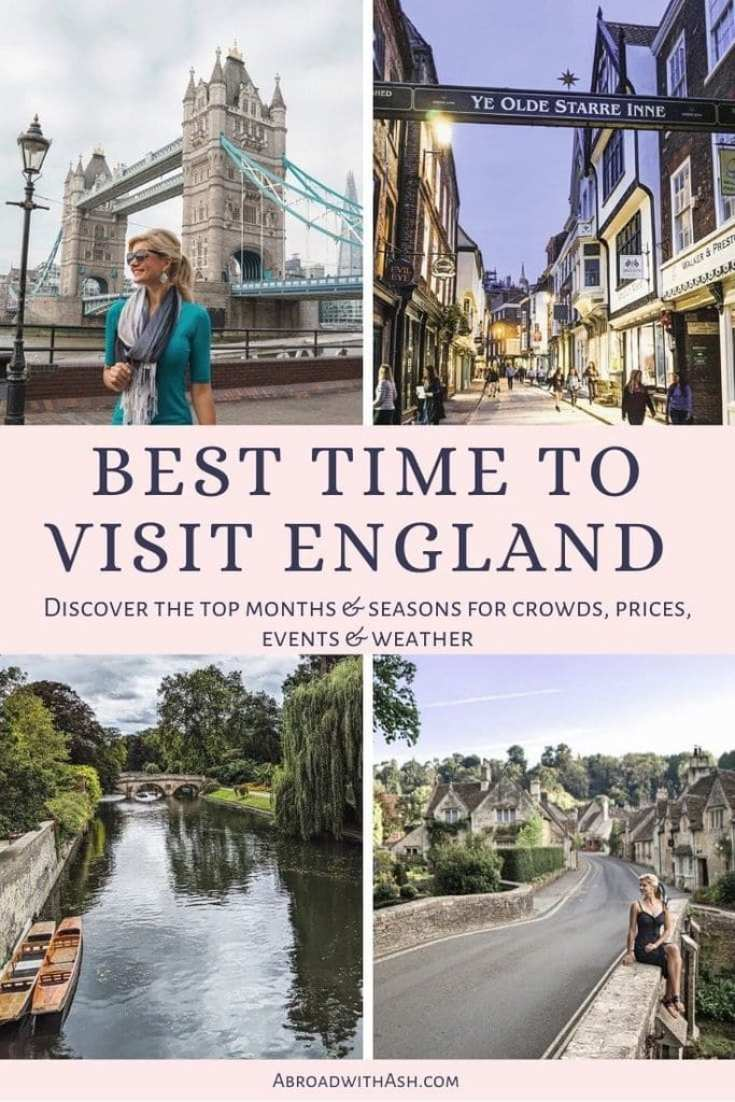 best time to visit england