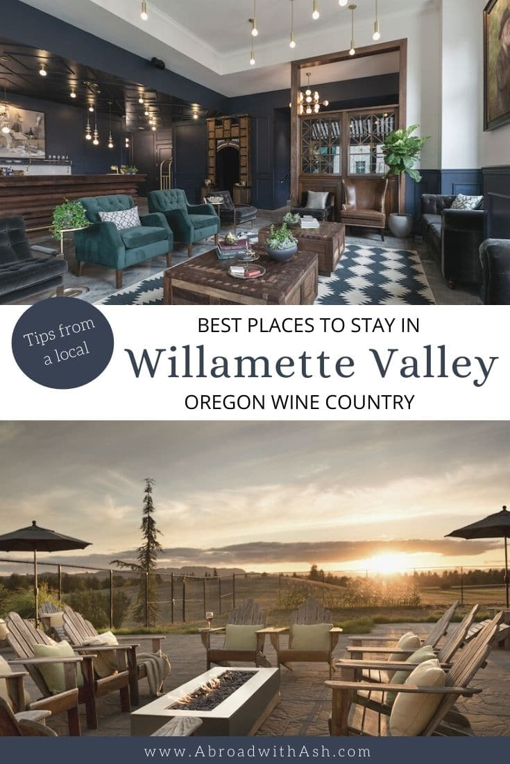 where to stay in Willamette Valley