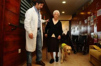 Terapia asistida con mascotas