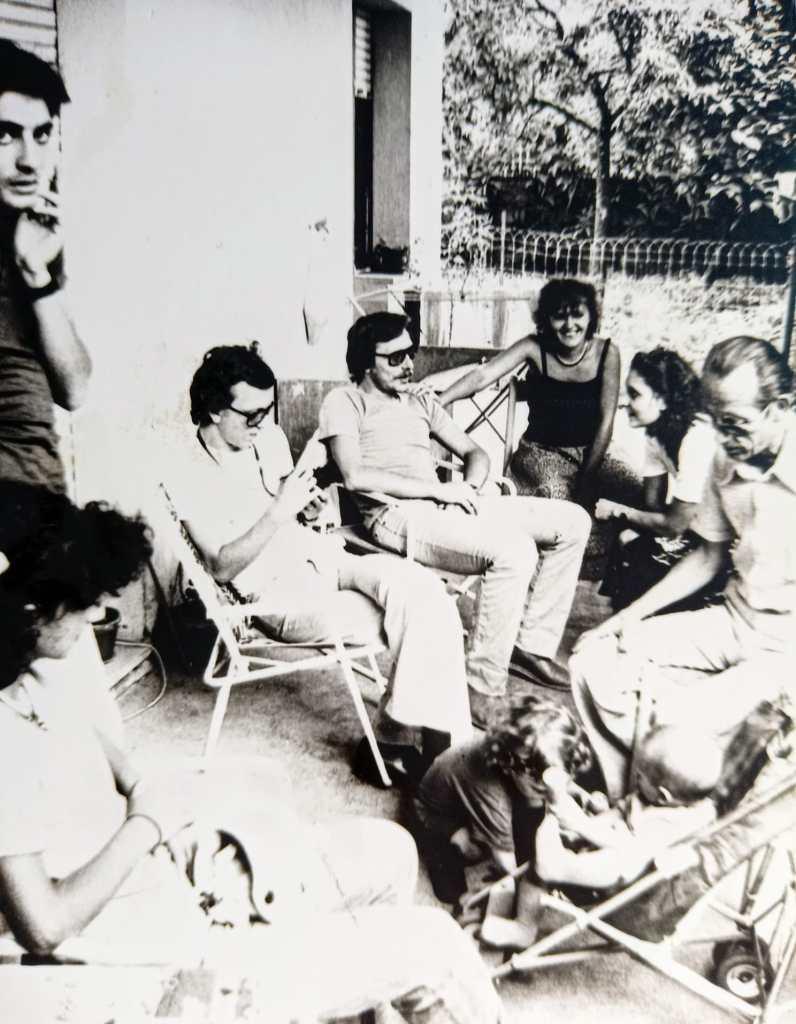 Remo Rapino e famiglia