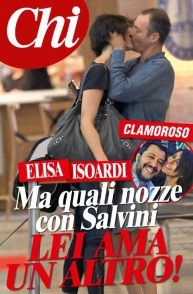 Elisa Isoardi tradisce Salvini Chi pubblica gli scatti del bacio appassionato  Cronaca