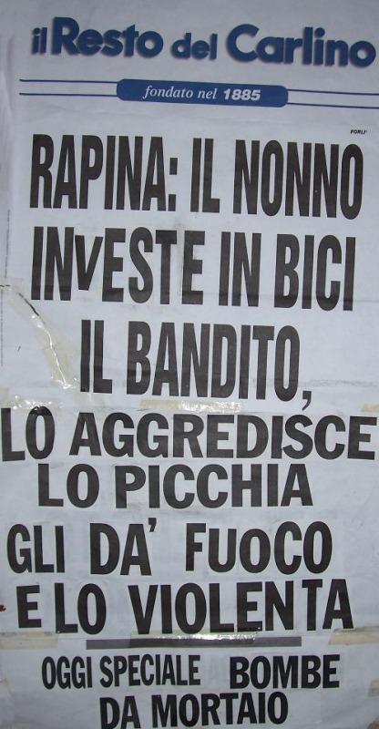 Titoli di giornale annunci e circolari assurdi ed esilaranti  Cronaca LAquila  Abruzzo24ore