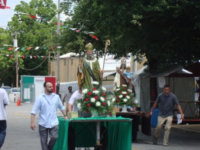 Procession at St Anthony Festival