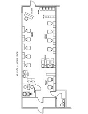 beauty salon floor plan design