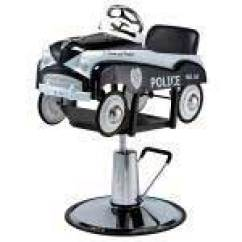 Kids Salon Chair Revolving Stand Price Chairs Hair Styling For Children Pibbs 1807 S Police Car