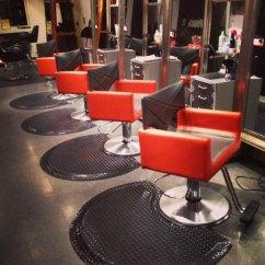 Orange Chair Salon Turquoise Patio Chairs Interior Design By Ab Equipment Moon