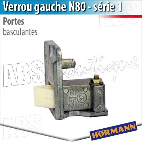 Verrou Porte Basculante Debordante Hormann Serie 1 Gauche