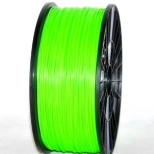 PLA 1.75mm 1KG 3D printer consumables clear green HIGH QUALITY GARANTITA SU MAKERBOT, MULTIMAKER, ULTIMAKER, REPRAP, PRUSA