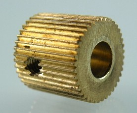 40 Tooth MK7/MK8 Ottone Wire Feed Gear per Stampante 3D / Estrusore