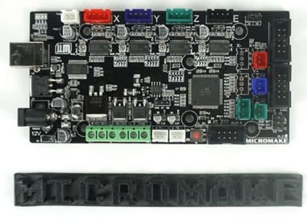 Micromake 3D Printer Controller Main Control Panel Card Compatibile Rampe 1.4 Support Heated bed Pieces Of 3D Printer