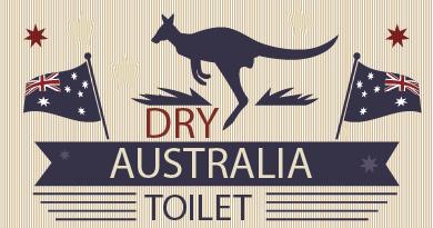 Dry Toilet Australien