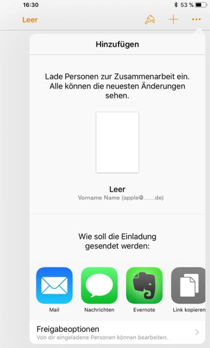 Mac Page Zusammenarbeit