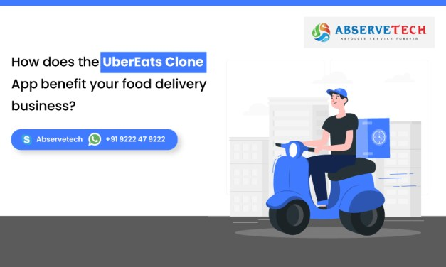 How does the UberEats Clone App benefit your food delivery business?