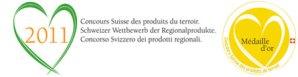 Concours produits du terroir suisse 2011 - Médaille d'Or