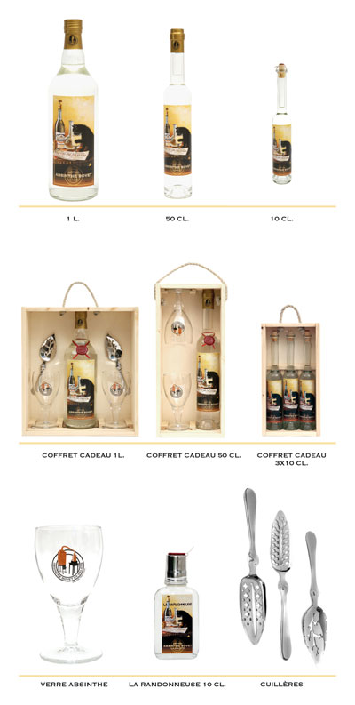 Absinthe Le Chat products range