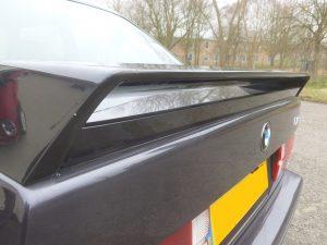 BMW E30 M3 Evo inner spoiler