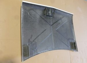 Clubman Bonnet Carbon with Hinge and Catch mounts 2