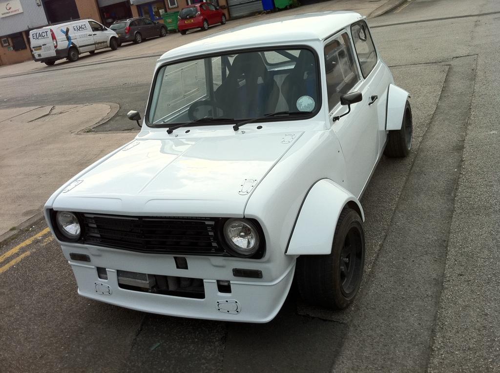 Mini Front End Clubman St 2 Piece Abs Motorsport