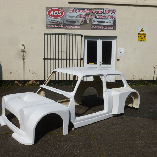 Mini Body Shell - Space Frame Lowered Wide Body Set