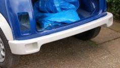 cheater rear bumper