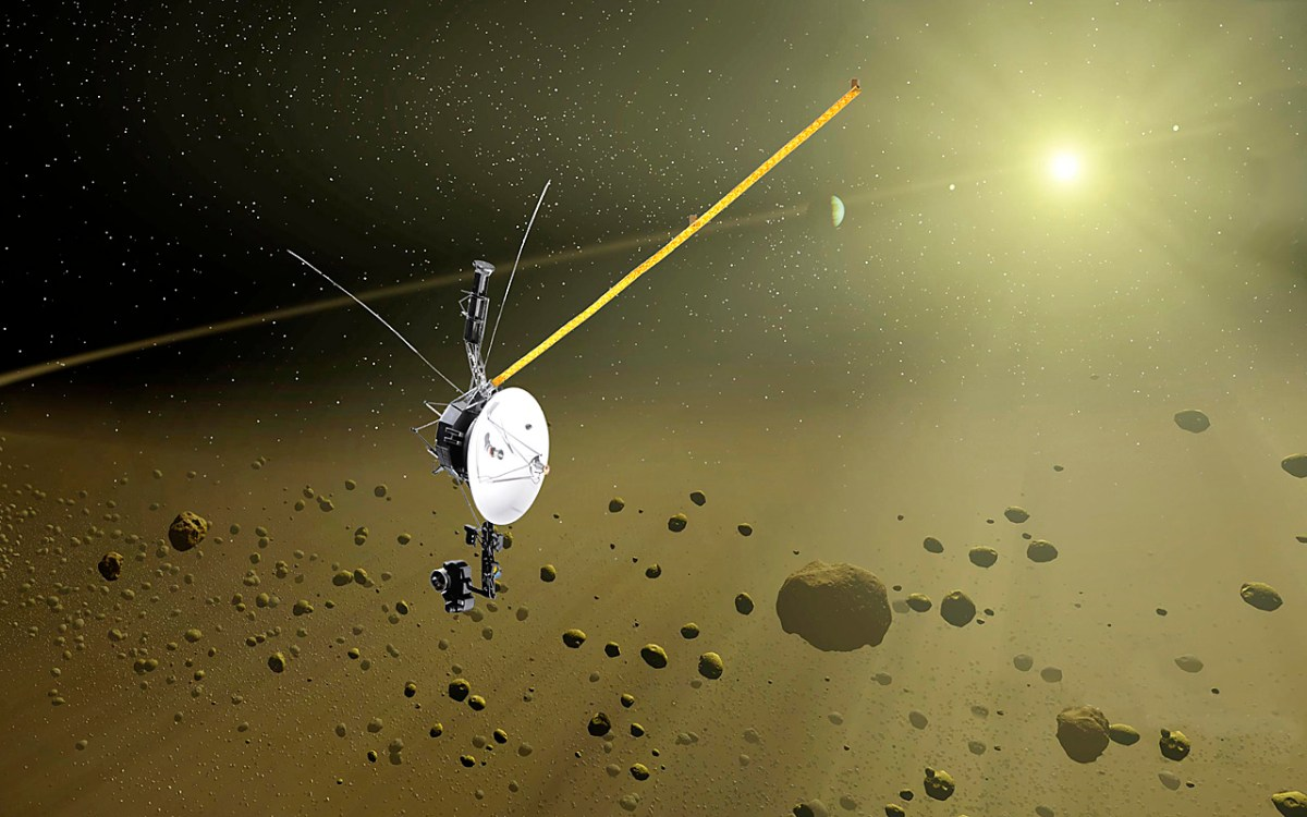 Voyager 1 Celebrates 40 Years Of Space Travel