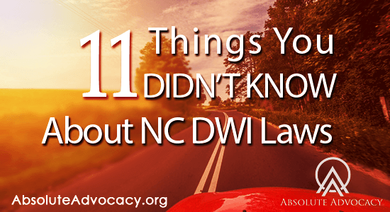 11-Things-To-Know-About-NC-DWI-Laws-and-Penalties