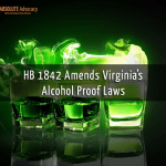 HB 1842 Amends Virginia's Alcohol Laws