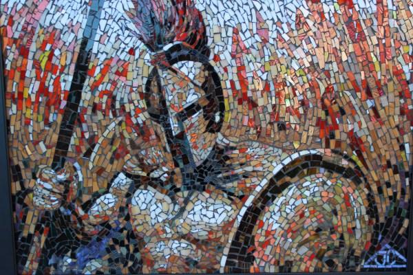 Joseph And Sons Mosaics Artwork Mosaic Spartan Original