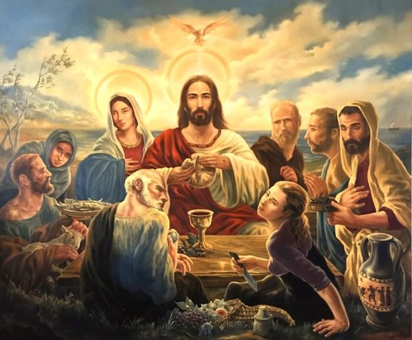 Paul Armesto Artwork Agape Original Painting Oil