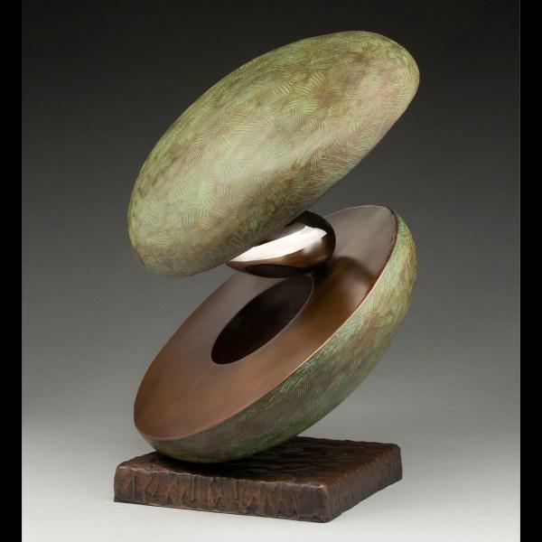 Ted Schaal Artwork Orbacado Original Sculpture Bronze Abstract Art